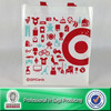 100% eco-friendly print pp non woven foldable grocery bag