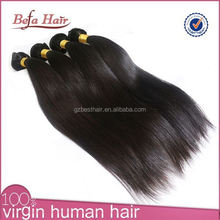 Pretty Girls Silky Straight Natural Color 6A Brazilian Hair Accept Paypal