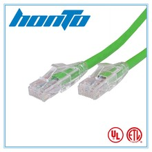 Competitive price pass fluke test utp cat5e patch cord network cable