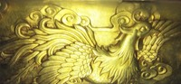 WUTIAN Beautiful Phoenix Sculpture Statue