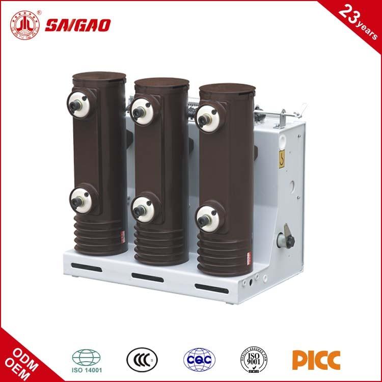 24KV 630A 12KV 1250A VS1 серии Крытый Высокое Напряжение Вакуумного Выключателя Апв (VCB)