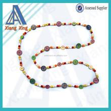 Jewelry type fashion crystal beaded lanyard