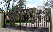 Beautiful Residential Wrought Iron Gate Designs/Models/Wrought Iron Main Gates /Metal Iron Gate
