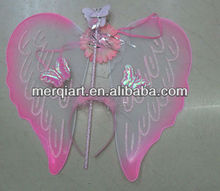Hot selling pink fairy wings wholesale