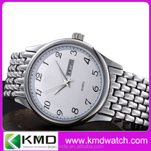 Japan quartz 304 Stainless steel case watches metal band
