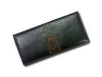 2015 Fashion high quality genuine long leather wallet for men