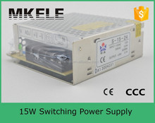 S-15-5 ce approved 15w 5v 3a high voltage AC/DC switching power supply