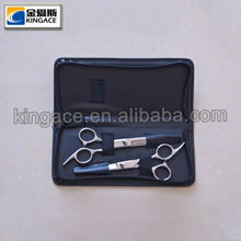 Best Stainless Steel Barber Scissors Set with Leather Case