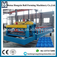 TOP Quality Customized Metal Roofing Glazed Tile Making Machine Used Coated Surface Treament