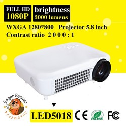 trade asurance supply 60-200 inch zoom led full hd 3d mini projector 1080p home theater projector
