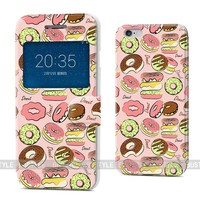 The latest design high quality leather cases for iPhone 5s 6 plus for Samsung galaxy s5 s6 edge, can accept custom design