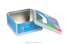 clear cookie tin box