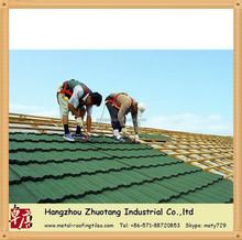 Popular selling of Metal Sheet Roof Tile/nosen type