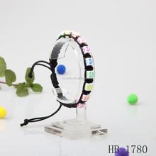 plastic smile bracelet for kid's gift popular style