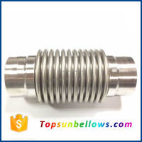 Wenzhou pipe stainnless steel expansion joints flexible stainless steel bellow hose