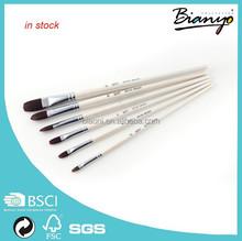 nylon brushes /wholesale brushes for artist/ painting brushes in stock