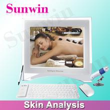 Portable Skin Analyzer Machine For Skin Testing with English version SW-39A