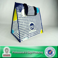 Custom Cheap Recycled Laminated PP Woven Standard Size Shopping Bag