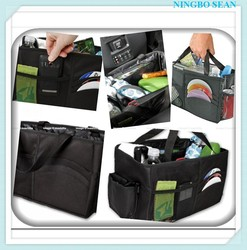 Multipurpose Folding Car Auto Console Organizer