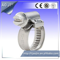 fine quality and low price german type hose clamp