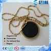 fashion necklace energy 1000-4000cc ions gold side sphere image quantum scalar lava pendant