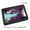 Android 4.4 Octa core tablet PC 10 inch with 1GB16GB wifi bluetooth 2 cameras