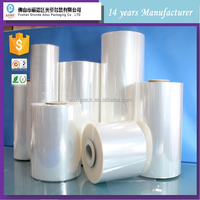 Center Folded Printed POF Shrink Wrap Film