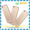Luxury diamond adornment crystal clear tpu skin phone case for iphone6/6s