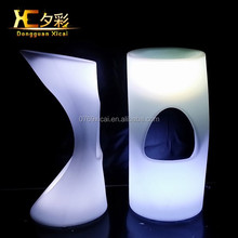 HOT Sale Led Outdoor Lighting Furniture/Rechargeable Led Furniture