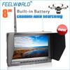 New arrival big quadcopter gps quadcopter camera monitor feelworld 8 hd fpv monitor