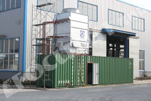 New Advanced highly improved technology industrial containerized water chiller for concrete cooling system/industrial chiller