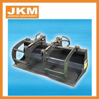 Quality skid steer loader attachments for grabing wood for sale