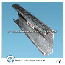 estructura de la pared seca