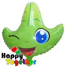 HAPPY TOGETHER Factory wholesale Fashion HOT Sale Green Leaf Foil Balloons