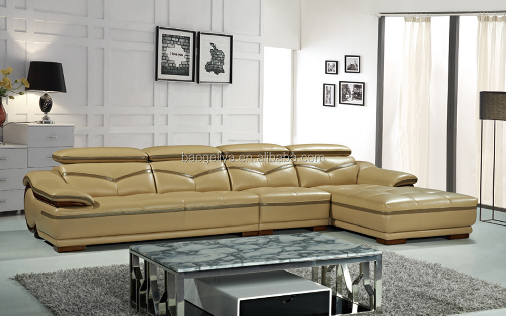 Leather living room funiture