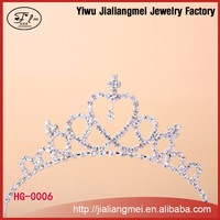 Shining bulk princess rhinestone crowns and tiaras