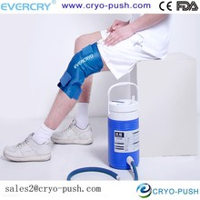 Knee injuries curing medical cold therapy system