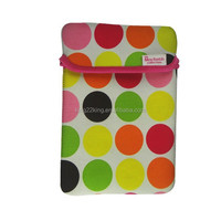 Fancy Neoprene felt laptop Sleeve bag for Ipad