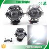 12V-80V 3000LM U5 Laser Gun Motorcycle Led Headlight Headlamp Motorbike Led Spotlight 15w led work light IP68