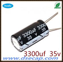 capacitor hot sale Aluminium electrolytic capacitor CD110 35v 3300uf