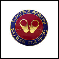Top fashion wholesale metal collar insignia lapel pins