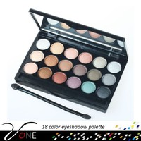 Long-lasting makeup 18 color eyeshadow palette cosmetic for girls