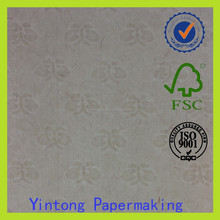 watermark paper with UV fibers certificate paper