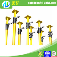 Japan standard Q235 galvanized adjustable steel post support made by China