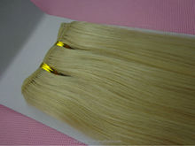 Best Grade Double Drawn 613 blonde hair weave, Brazilian Remy Hair