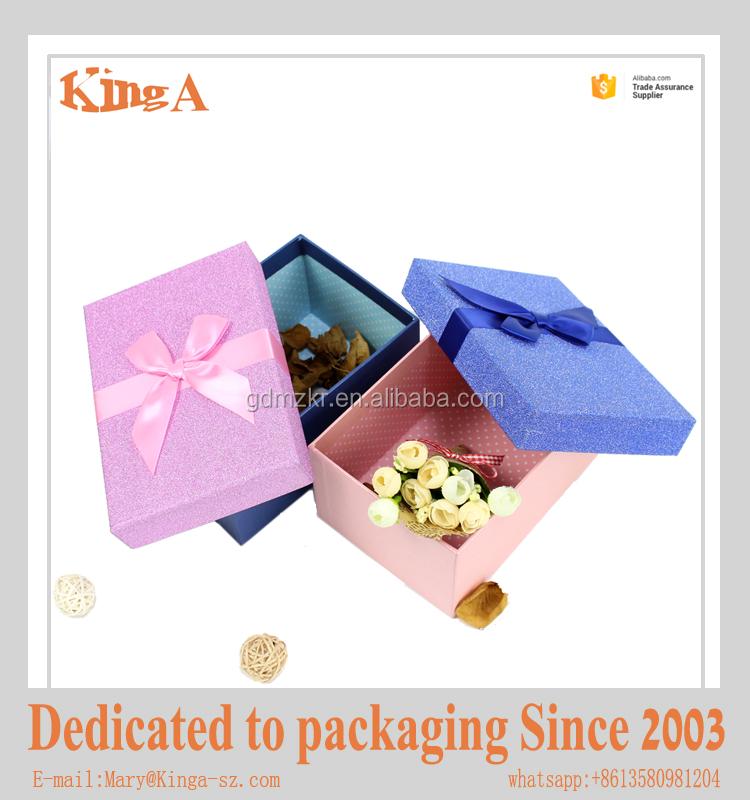 Source Cute Gift Box Custom Paper Packaging Box Toy Box
