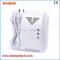 AC 100-240V CE approved Standalone type natural combustion gas detector home