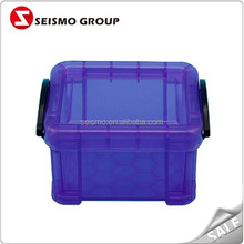 Colored Transparent Pill Jewelry Small Plastic Boxes