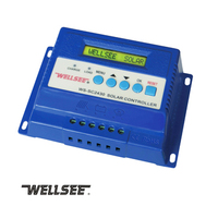 WS-SC2430solar controller three stage charge and discharge solar controller 12v/24v 20A 30A optional solar controller charger