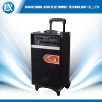 Supply all kinds of rechargeable trolley portable speaker with bluetooth function
